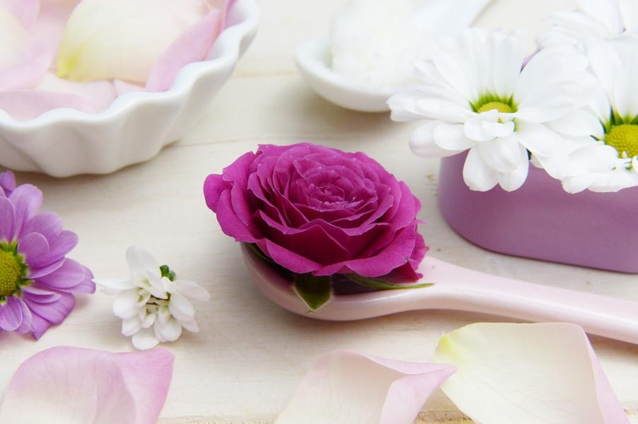 Rózsaolaj rózsavirág